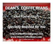 Fresh Roasted Whole Coffee Beans (One Pound)
